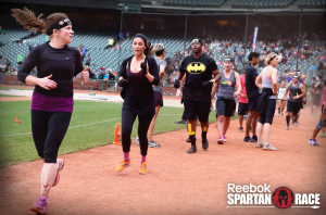 First Spartan Race AT & T park 2014