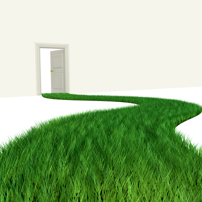 Opening my own door...